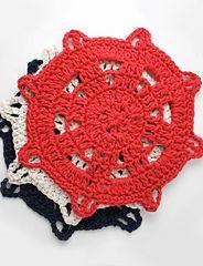 Ship's Helm Dishcloth, Lily Sugar n Cream                            http://com.yarnspirations.pattern-pdfs.s3.amazonaws.com/LilySnCweb193_cr_shipshelmdishcloth.en_US.pdf