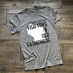 0823ceab Friday Fish Fry Tee - Wisconsin Tee - Tri-blend T-shirt