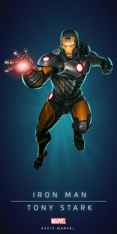 #Iron #Man #Fan #Art. (IRON MAN - TONY STARK IN: MARVEL'S PUZZLE QUEST!) BY: AMADEUS CHO! (THE * 5 * STÅR * ÅWARD * OF: * AW YEAH, IT'S MAJOR ÅWESOMENESS!!!™)[THANK U 4 PINNING!!!<·><]<©>ÅÅÅ+(OB4E)(IT'S THE MOST ADDICTING GAME ON THE PLANET, YOU HAVE BEEN WARNED!!!)