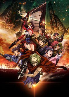 El Anime Koutetsujou no Kabaneri tendrá dos películas recopilatorias.