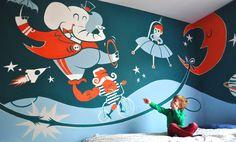 Mural in kidsroom (2012) www.janwerkt.be