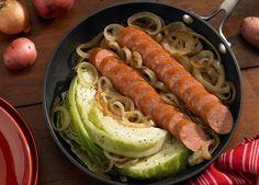 Polish Kielbasa Cabbage Skillet - Johnsonville.com