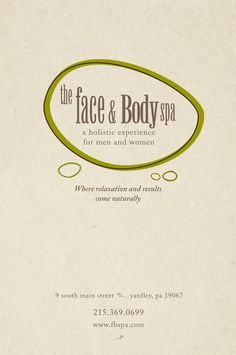 My fav place to unwind! On Main St #YARDLEY @fbspa #goodlifebux Face and Body Spa - FBSpa Fall 2012 Menu