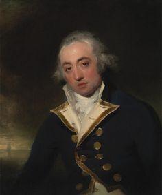 Sir Thomas Lawrence, 1769-1830, British Title Admiral John Markham Date ca. 1793