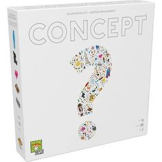 Asmodee CONC01 Concept Board Games