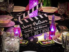Clapboard Table Sign - BAT MITZVAHS