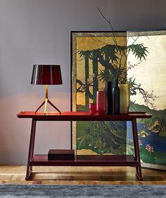 Consolle: RECIPIO - Collection: Maxalto - Design: Antonio Citterio