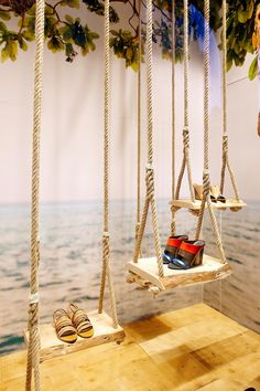 "LA RINASCENTA, Milan, Italy, ""Spring on a Swing"", pinned by Ton van der Veer"