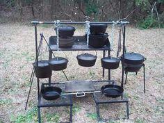 My camp kitchen! #rvcooking