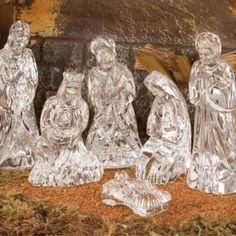 Waterford Crystal Nativity - beautiful