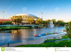 thumbs.dreamstime.com z adelaide-oval-river-torrens-foot-bridge-south-australia-january-view-which-very-popular-tourist-attractions-52464540.jpg