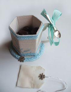 """MarasquinDecor: Marturie de botez sau nunta, """"Tea / Coffee Cup"""""""