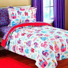 mainstays kids pretty princess bed in a bag bedding set walmartcom