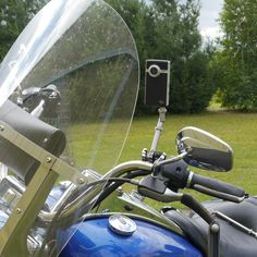 Swivel-CAM Camera Mount - Harley Brake/Clutch (Chrome)