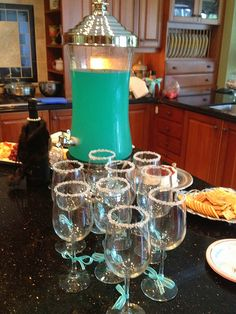 "Breakfast at Tiffany's Party ideas for my Thirty-One team, ""Denise & Co.""! <3"