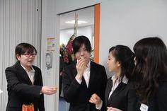 長田先生のパーティのお手伝い!  Mrs.Nagata's party preparations...