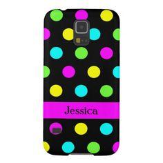 Funny Colorful Polka Dots - Samsung Galaxy S5 Case
