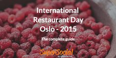 Restaurant Day in Oslo 2015 - Here is the entire event-list! Have we forgot any? Do shoot us a message about! Enjoy..