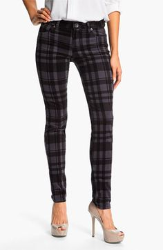 Love them! KUT from the Kloth Plaid Corduroy Pants available at #Nordstrom