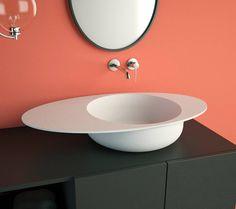 Solidcap www.ideavit.com Solidcap...Beyond the Ordinary The new range of free standing washbasins inspired by the multiform world of hats.  #solidcap#bathroom #bath #architecture #sanitary #minimal #minimalism #bathtub #tub #luxurybath #whitematt #solidsurface #minimaldesign #simplicity #bathroomdecor #simplebath #minimalbath #washbasin #minimalbathroom #archiproject #designer #archdaily #homedecor #interiordesign #interiors #matte #ideavit #hoteldesign #boutiquehotels#luxuryhome