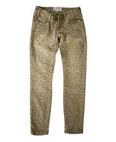 Skinny Denim Jeans C:
