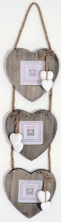 fotolijstje hout met hartjes www.fotostudiolimburg.com #fotograaf #limburg #fotostudiolimburg