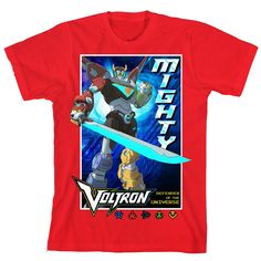 Voltron Legendary Defender Kids T-shirt BRAND NEW f8ef94cfa28d