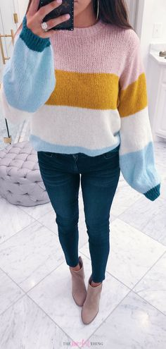 fashion 2018 This Topshop Sweater is amazing! Casual outfit for everyday.Emily Ann Gemma, Nordstrom Anniversary Sale Perfect Outfit with items on sale. Look Fashion, Winter Fashion, Fashion Outfits, Fashion Tips, Fashion Trends, Womens Fashion, Fashion Essay, Autumn Fashion 2018 Casual, Smart Casual Women Winter