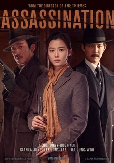 Upcoming South Korean Movie 'Assassination' Starring Jun Ji Hyun and Lee Jung Jae Release Trailer | Koogle TV