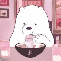Cute Disney Wallpaper, Kawaii Wallpaper, Cute Cartoon Wallpapers, Animes Wallpapers, Ice Bear We Bare Bears, We Bear, Bear Cartoon, Cartoon Icons, Vintage Cartoons