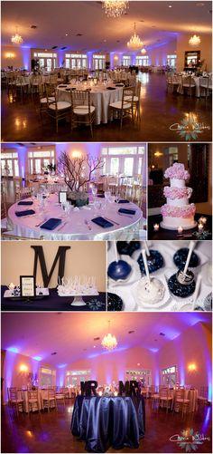 #navy and #pink #wedding #inspiration #langefarm #garden house wedding