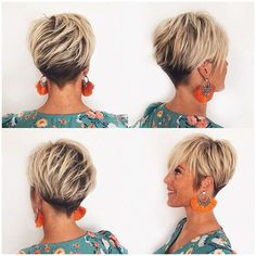 long-layered-pixie-haircut Best Short Layered Pixie Cut Ideas 2019 Best Short Layered Pixie Cut Ideas In every period of rapidly changing hair trends, short pixie cuts can be an excellent experience Short Pixie Haircuts, Pixie Hairstyles, Hairstyles With Bangs, Haircut Short, Blonde Pixie Cuts, Short Blonde, Pixie Cut Styles, Short Hair Styles, Short Hair With Bangs