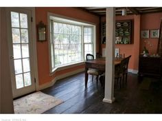 Eat-in-kitchen with large bay window.  Find this home on Realtor.com