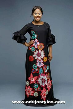 New Plain and patterned Ankara designs for ladies - Od9jastyles
