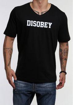 V disobey #vagrancylifestyle #handmade #tops #man Mens Tops, T Shirt, Handmade, Women, Fashion, Hand Made, Moda, Tee Shirt, Fashion Styles