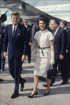 President John F. Kennedy & Jackie Kennedy