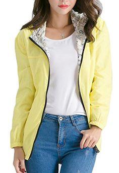 dca9e9af3ba471 YUNY Womens Casual Loose Print Pockets Drawstring Hooded Jacket Coat 1 XS  Hooded Jacket