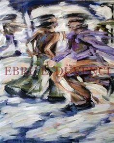 "Saatchi Online Artist Ebru E Duvenci; Painting, ""untitled, 2004, oil on canvas, 60x50cm"" #art"