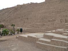 Huaca Pucllana in Lima, Peru