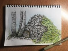 Landscape (micron,crayon)