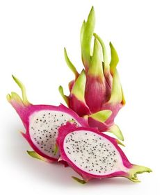 Pitaya dragon fruit is a tropical fruit that's rich in antioxidants and vitamin C and can be paired with any combination of fruit. Its bright purple color will brighten up any smoothie, too!