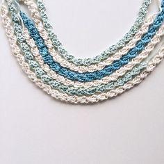 knitpurlhook crochet necklaces