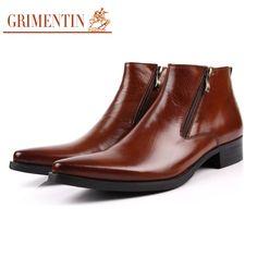 elegant ankle boots solid design