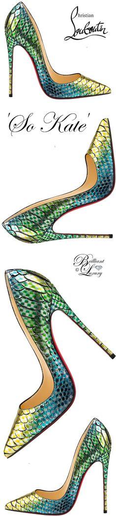 Brilliant Luxury by Emmy DE ♦ Christian Louboutin 'So Kate'