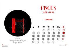 Last file of my Astrohaiku Calendar: Pisces!