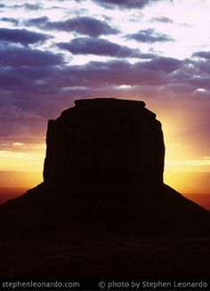 Butte at Sunrise is located in Monument Valley