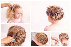 Hair Styles – Hair Care Tips and Tricks 2015 Hairstyles, Older Women Hairstyles, Little Girl Hairstyles, Prom, Girls World, Kids Girls, My Hair, Hair Beauty, Hair Accessories