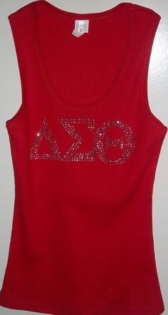 DELTA SIGMA THETA  Greek Letters Sorority by ChristCoutureDesigns, $17.99
