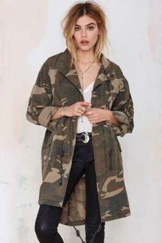 Capulet Incognito Camo Anorak | Shop Clothes at Nasty Gal