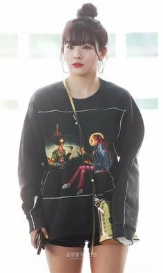 Kpop Fashion, Korean Fashion, Girl Fashion, Womens Fashion, Airport Fashion, Red Velvet Seulgi, Red Velvet Irene, Park Sooyoung, Korean Girl